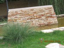 محوطه سازی ویلای ابرده شاندیز